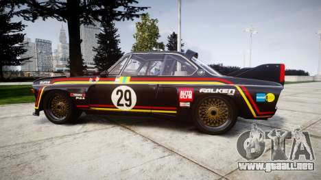 BMW 3.0 CSL Group4 [29] para GTA 4 left