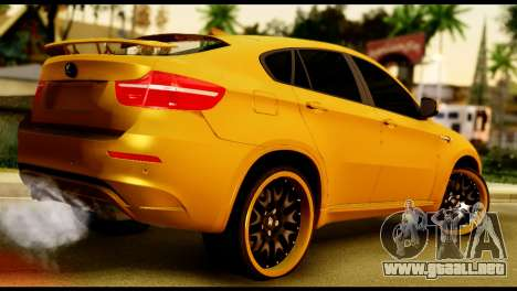 BMW X6 Hamann para GTA San Andreas left
