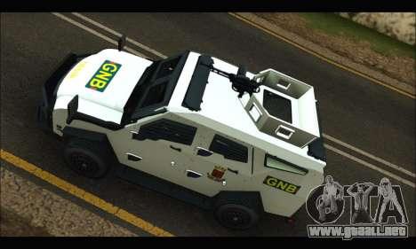 Oshkosh Sand Cat GNB para visión interna GTA San Andreas