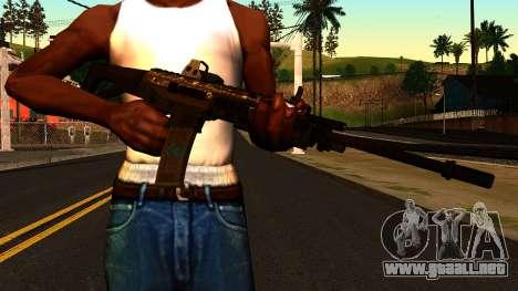 ACW-R from Battlefield 4 para GTA San Andreas tercera pantalla