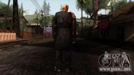 Resident Evil Skin 9 para GTA San Andreas segunda pantalla