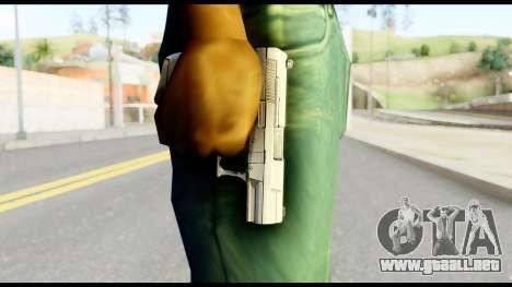 New Pistol para GTA San Andreas tercera pantalla