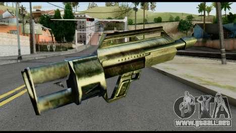 Jackhammer from Max Payne para GTA San Andreas segunda pantalla