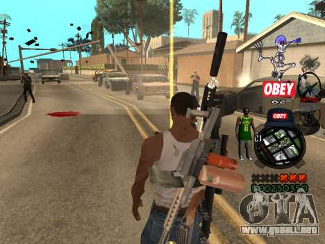 C-HUD Sweet para GTA San Andreas