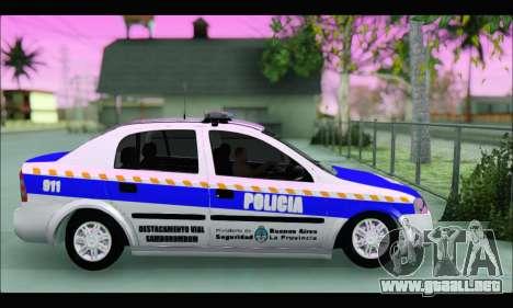Chevrolet Astra Policia Vial Bonaerense para GTA San Andreas left
