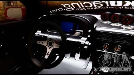 Mazda RX-7 FC35 Hoonigan para GTA San Andreas vista posterior izquierda