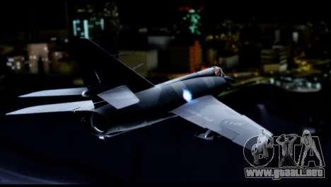 Dassault Etendard IV MF para GTA San Andreas left