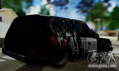 Jeep Mini-Truck para GTA San Andreas left