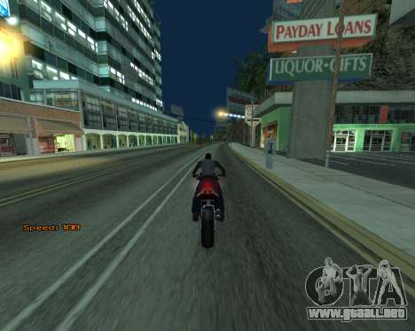 Car Speed para GTA San Andreas