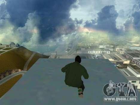Ryder Skin Grove St. Family para GTA San Andreas sucesivamente de pantalla