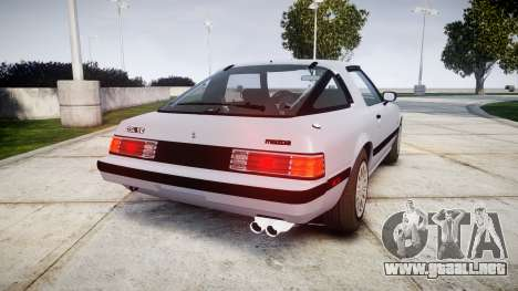 Mazda RX-7 1985 FB3s [EPM] para GTA 4 Vista posterior izquierda