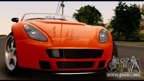 GTA 5 Dewbauchee Rapid GT Cabrio [IVF] para la visión correcta GTA San Andreas