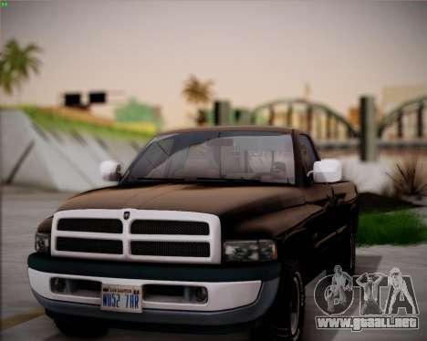 EazyENB para GTA San Andreas tercera pantalla