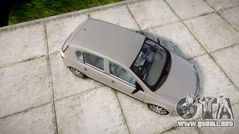 Vauxhall Astra 2009 Police [ELS] Unmarked para GTA 4 visión correcta