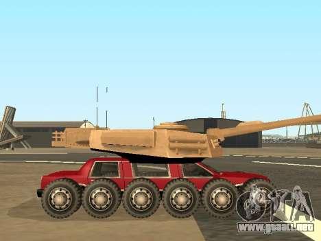 Tink Tank para GTA San Andreas vista hacia atrás
