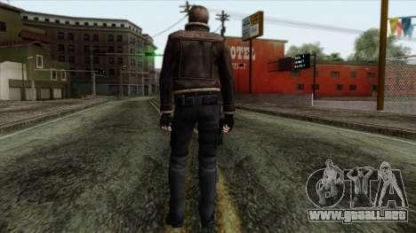 Resident Evil Skin 5 para GTA San Andreas segunda pantalla