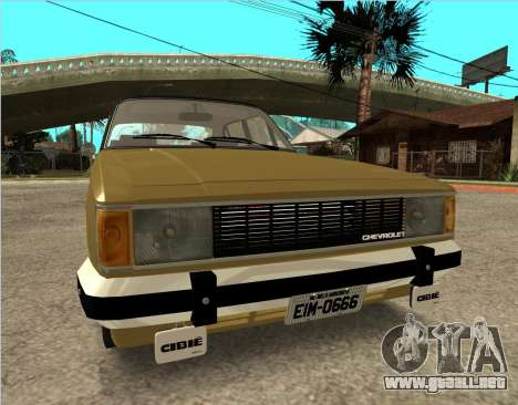 Chevrolet Opala 1980 para la visión correcta GTA San Andreas