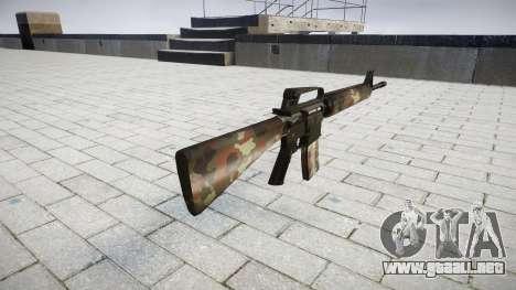 El rifle M16A2 berlín para GTA 4 segundos de pantalla