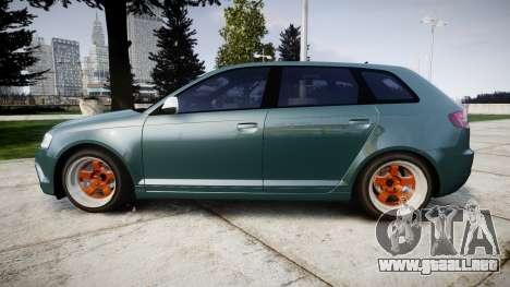 Audi RS3 Stanced para GTA 4 left