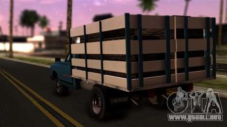 Chevrolet C30 para GTA San Andreas left