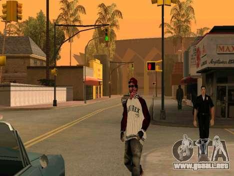 Doggers Gang para GTA San Andreas segunda pantalla