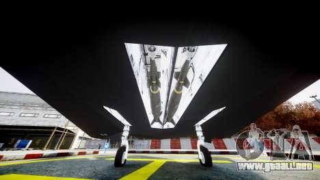 Lockheed F-117 Nighthawk para GTA 4 visión correcta