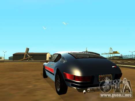 Volkswagen SP2 Original para GTA San Andreas left