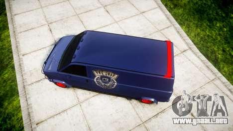 GTA V Declasse Gang Burrito para GTA 4 visión correcta