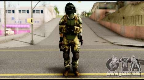 Support Troop from Battlefield 4 v2 para GTA San Andreas