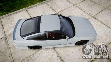 Nissan 240SX Sil80 para GTA 4 visión correcta