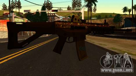 ACW-R from Battlefield 4 para GTA San Andreas segunda pantalla