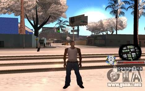Hermosa C-HUD para GTA San Andreas