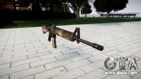 El rifle M16A2 berlín para GTA 4