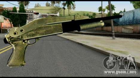 Pump Shotgun from Max Payne para GTA San Andreas segunda pantalla