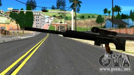 Sniper Rifle from GTA 4 para GTA San Andreas