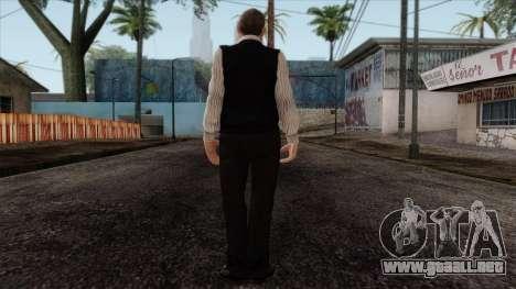 GTA 4 Skin 33 para GTA San Andreas segunda pantalla