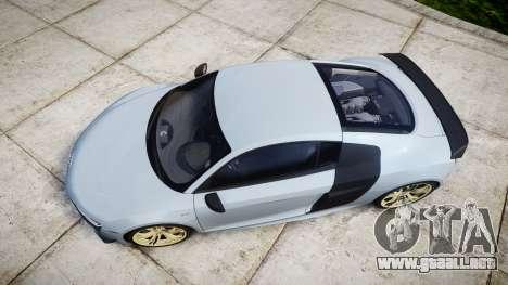 Audi R8 competition 2015 [EPM] para GTA 4 visión correcta