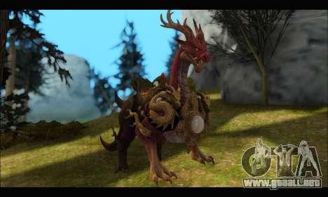 Kirin Dragon (TERA Online) para GTA San Andreas
