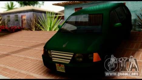 New Moobeam para GTA San Andreas vista posterior izquierda