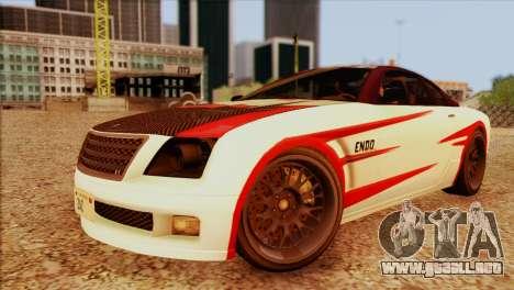 Schyster Fusilade Sport 1.0 (HQLM) para GTA San Andreas vista posterior izquierda