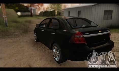 Chevrolet Aveo LT 2010 para GTA San Andreas