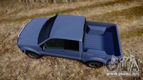 Vapid Contender (E109) off-road para GTA 4 visión correcta