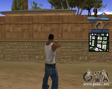 C-HUD Russian Mafia para GTA San Andreas segunda pantalla