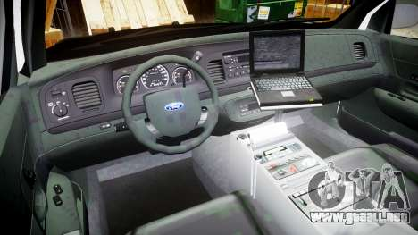 Ford Crown Victoria 2008 LCPD [ELS] para GTA 4