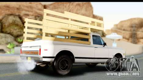 Chevrolet C10 1972 para GTA San Andreas left