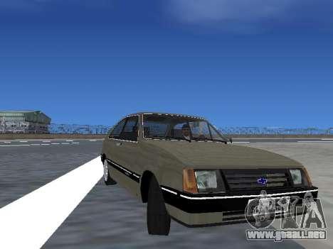Chevrolet Chevette Hatch para las ruedas de GTA San Andreas