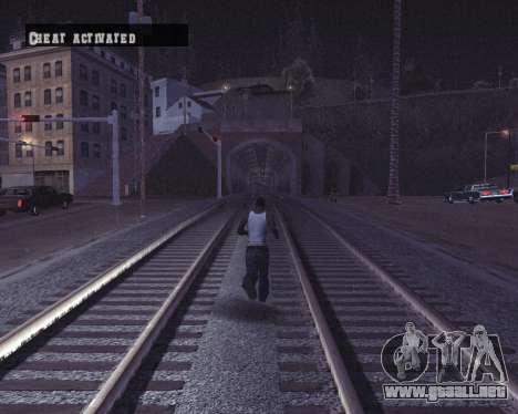 Colormod by Shane para GTA San Andreas sexta pantalla