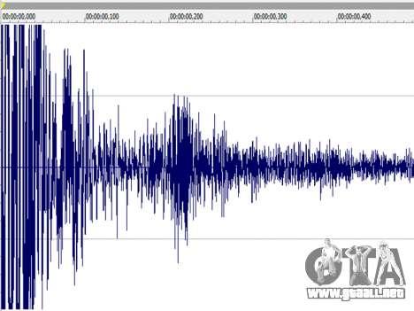 Battlefield 2 Weapon Sounds v1.0 para GTA San Andreas