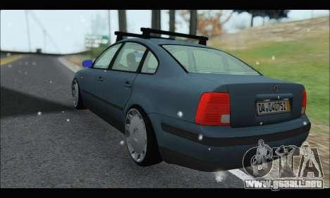 VW Passat para la visión correcta GTA San Andreas