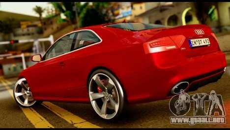 Audi RS5 2013 para GTA San Andreas left